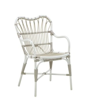 Exterior Margret Chair - Exterior - Dove White