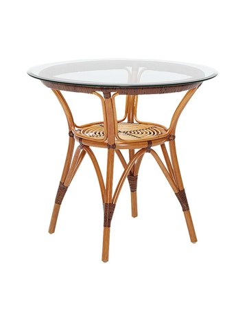 Originals Side Table Round, Cherry - excluding glass. [add 60cm P9060]