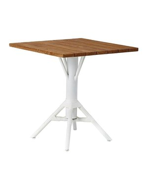 Affaire Nicole Cafe Table Base. White. <br />Assorted tops available separately