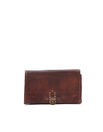 Campomaggi Wallet. Genuine Leather. Cognac.