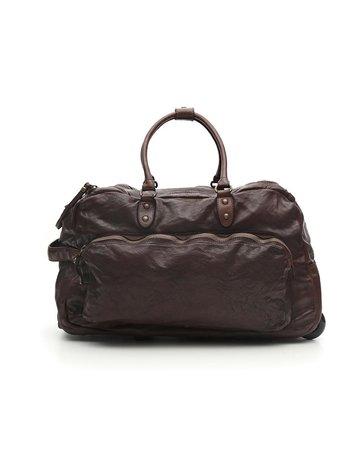 Campomaggi Trolley. Genuine Leather. Grigio.