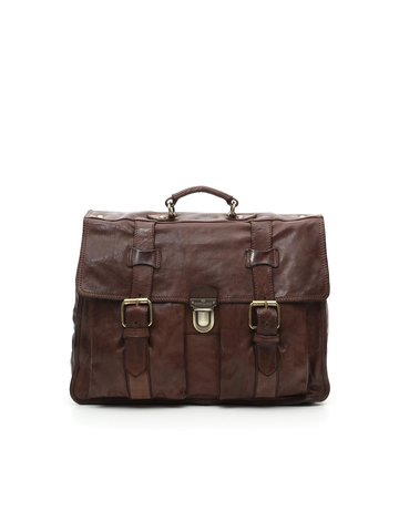 Campomaggi Carrier bag. Big. Genuine Leather. Moro.
