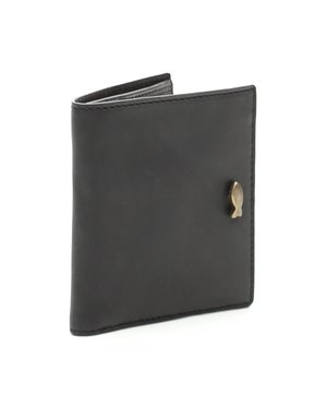 Campomaggi Genuine Leather Wallet & Cardholder. Nero.
