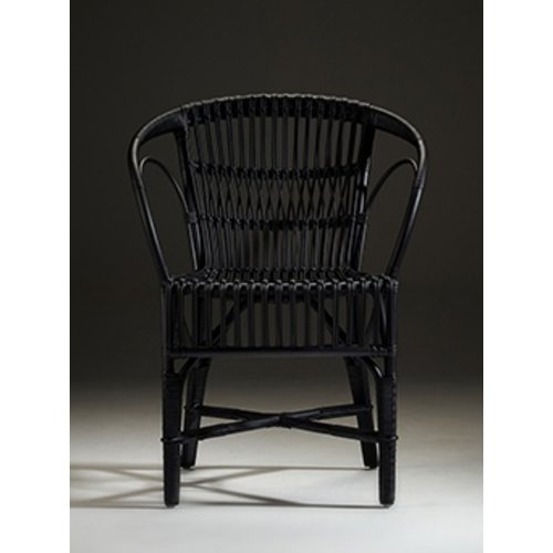 Icons Wengler Chair, Polished Matt Black
