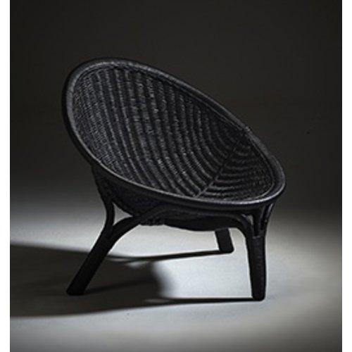 Icons RANA 3 Legged Chair - Black