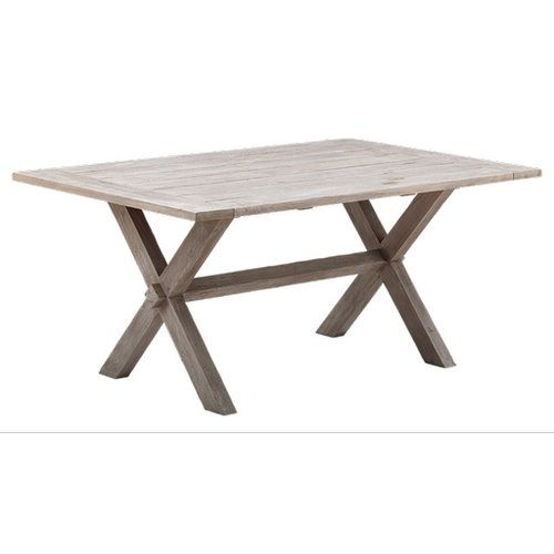 Teak Colonial Teak Table - 100 x 160cm, Natural