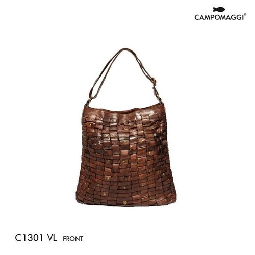 Campomaggi Cowhide Leather Bag, Moro