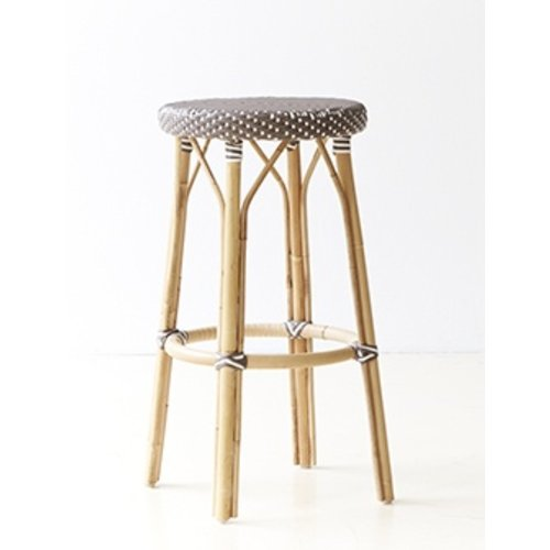 Affaire Simone Bar Stool, Cappucino with White Dots