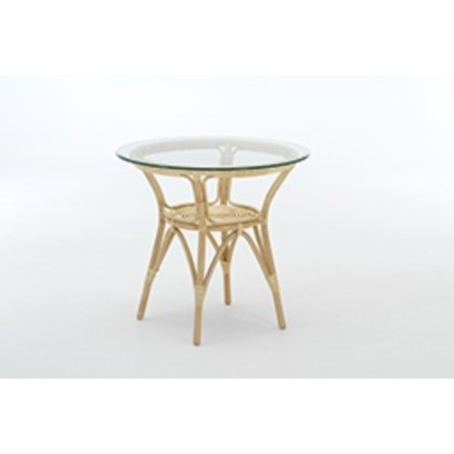 Originals Cafe Table, Natural - excluding glass. [add 80cm P9080 or 100cm P9002]