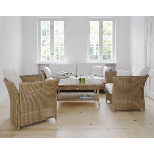 Duo Chair Cushion set, C101  White