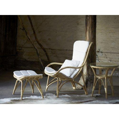 Originals Monet Foot Stool Cushion White