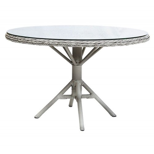 Grace Round Dining Table - White