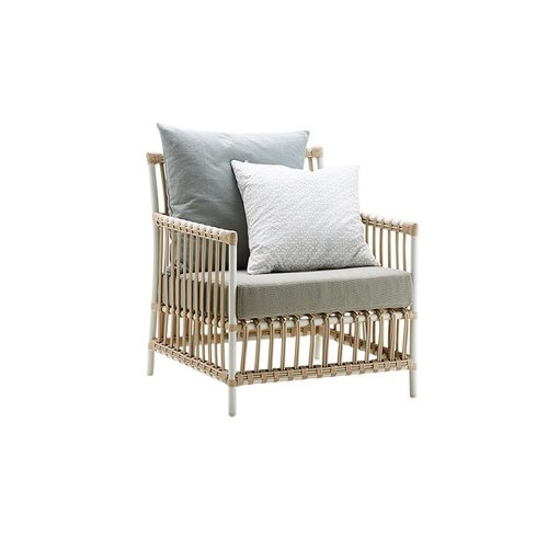 Exterior Caroline Lounge Chair - Excl cushion - Exterior - Dove White