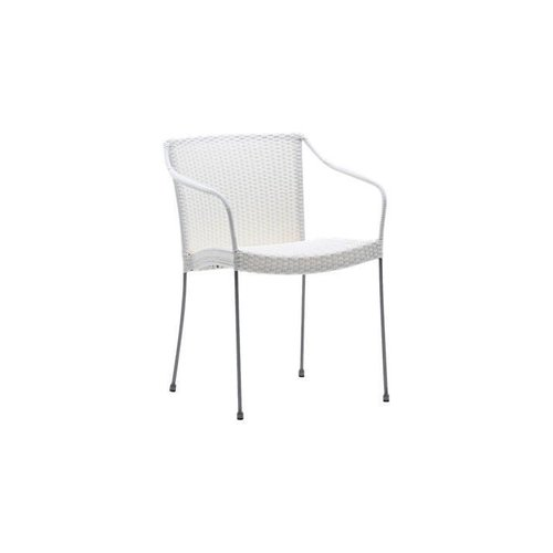 Pluto Lowback Armchair - White