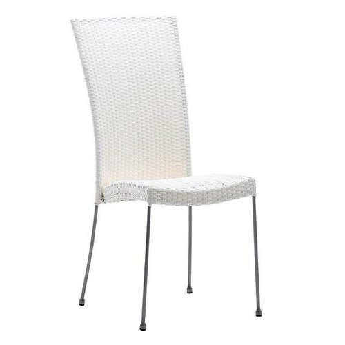 Saturn Chair without Armrest - White
