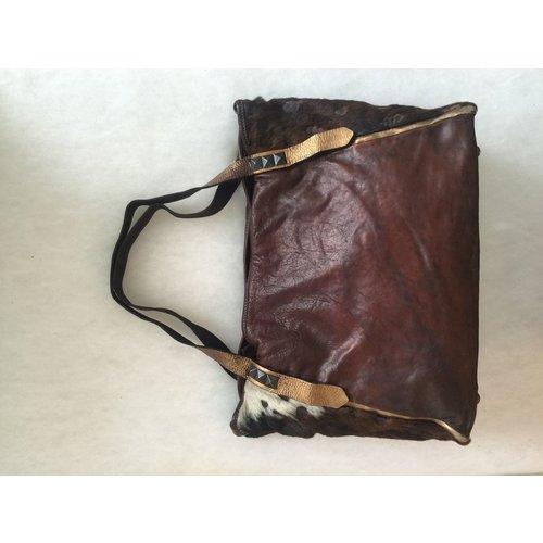 Campomaggi 100% Genuie Leather. Black Bronze