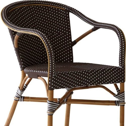 Affaire Madeleine chair Cappuccino w/white dots