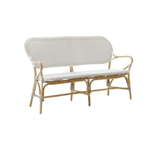 Affaire Isabell Bench. White with Cappucino Dots