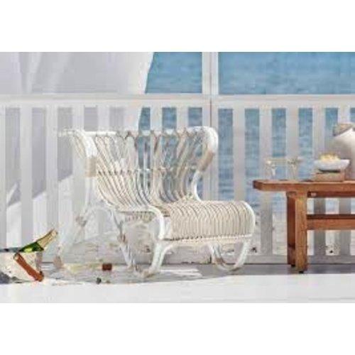 Exterior FOX Lounge Chair - Alurattan Dove white