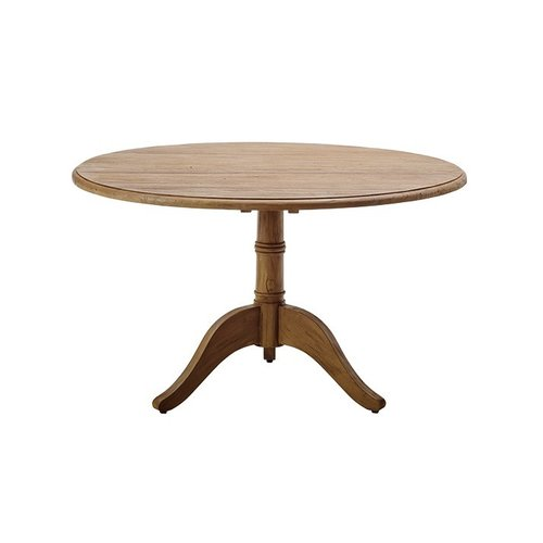 Teak Michel Teak 1.2m diameter round dining table