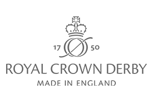 Royal Crown Derby Made in England Logo