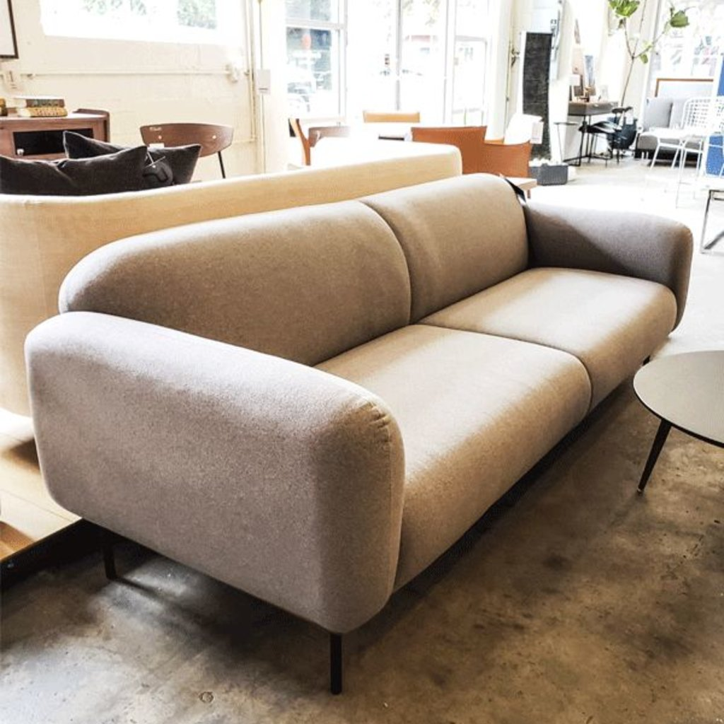 Nuevo Living Benson Sofa Light Gray Fabric