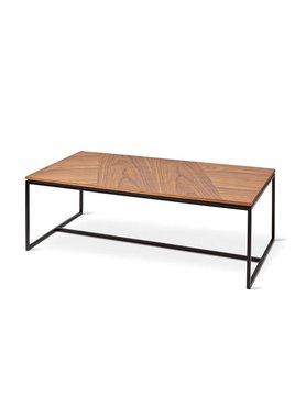 Gus Modern TOBIAS COFFEE TABLE RECTANGULAR WALNUT
