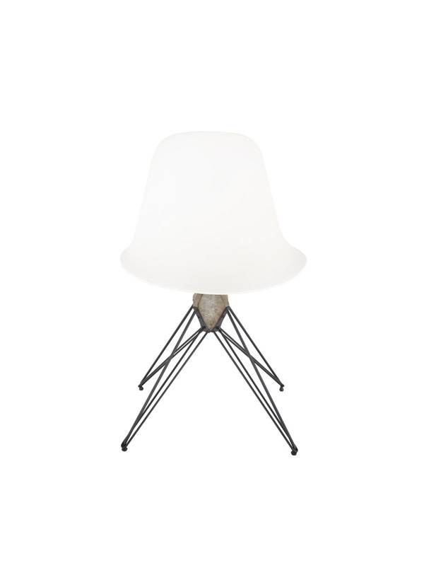 Nuevo Living Kahn dining chair white