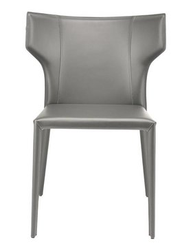 Nuevo Living WAYNE DINING CHAIR DARK GREY