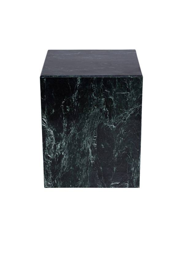 Nuevo Living MATISSE SIDE TABLE GREEN TOP MARBLE STONE