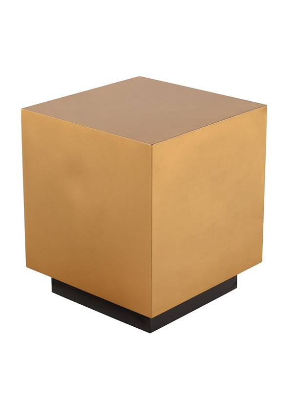 Nuevo Living PEYTON SIDE TABLE GOLD SS