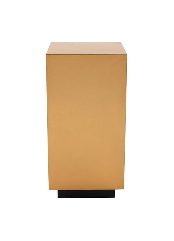 Nuevo Living JACE SIDE TABLE GOLD TOP SS