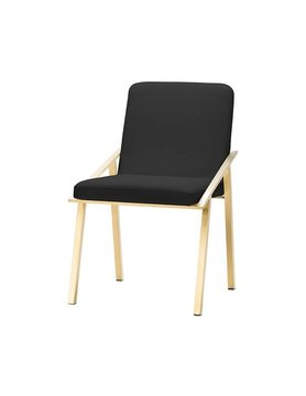 Nuevo Living NIKA DINING CHAIR BLACK