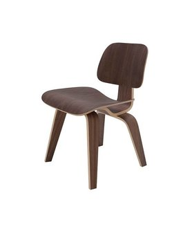 Nuevo Living SOPHIE - DINING CHAIR WALNUT SEAT WOOD VENEER MATTE