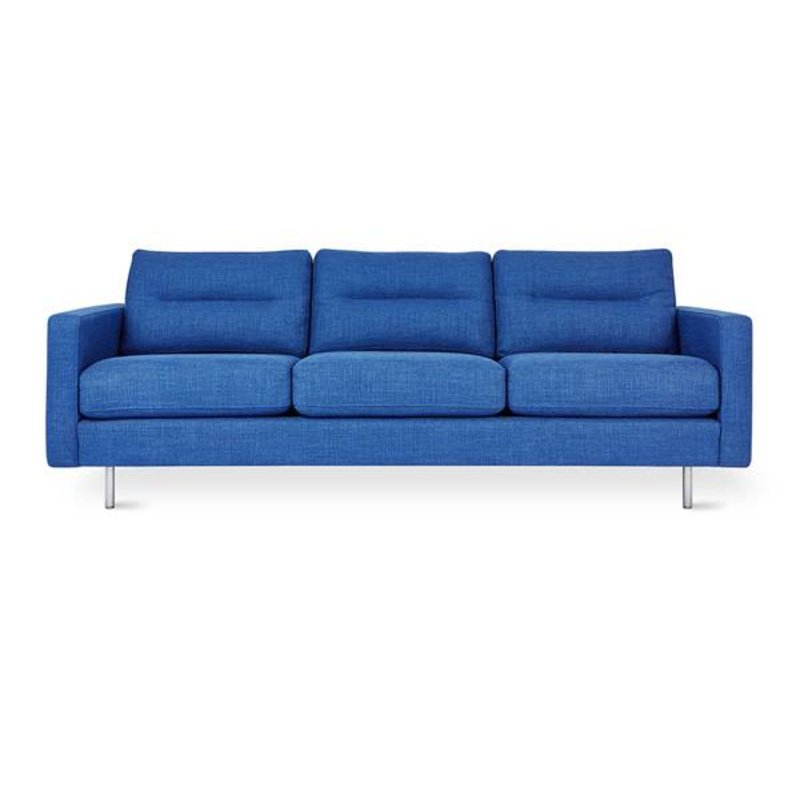 Gus Modern Logan Sofa (Stainless Base)