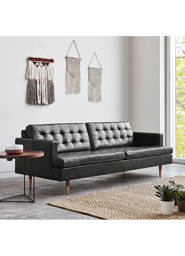 Gus Design Group Inc Archer Sofa  Leather