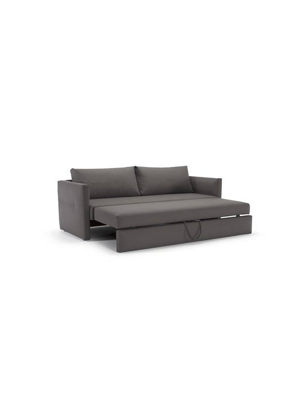 Innovations Living Toke Sofa Black Legs Coastal Seal Grey