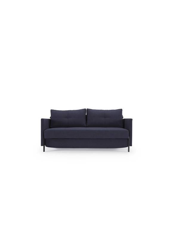 Innovations Living Cubed Sofa Mixed Dance Blue