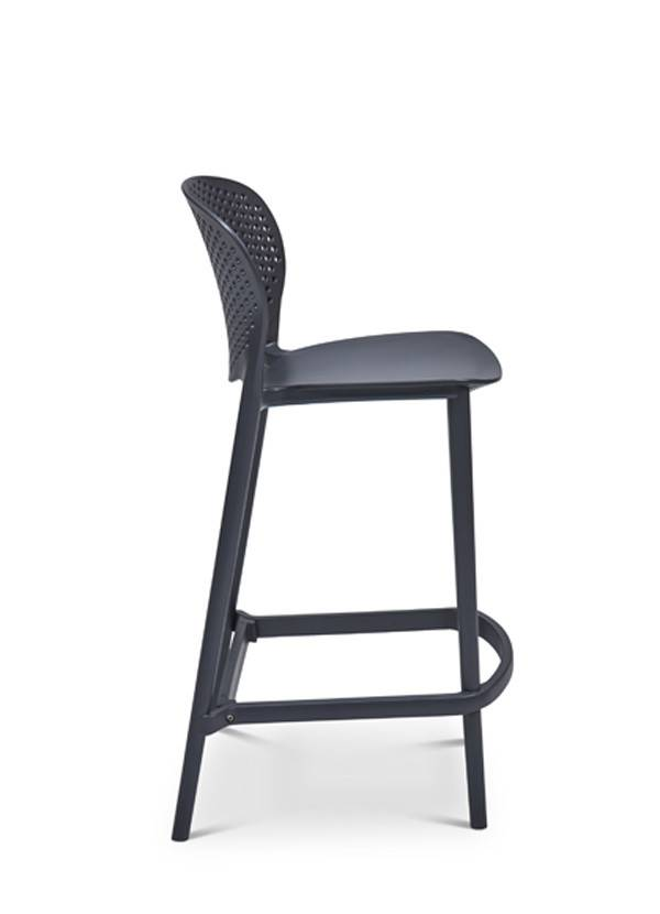 urbia Bailey Counter Stool Black Grey