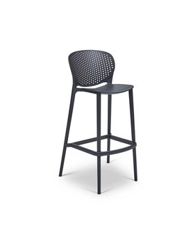 urbia Bailey Bar Stool Black Grey