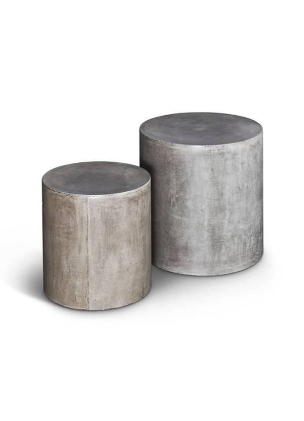urbia Una Pedestal Dark Grey Set of Two