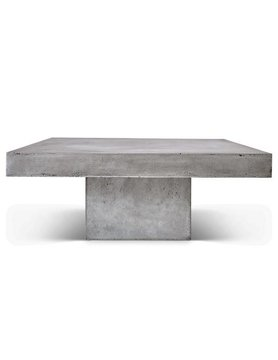 urbia Una Square Coffee Table Dark Grey
