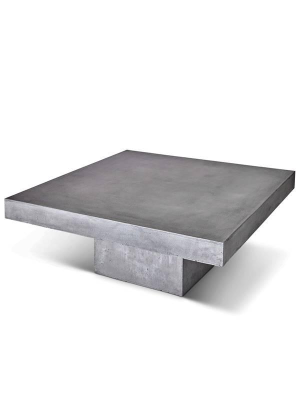 urbia Una Square Coffee Table Dark Grey