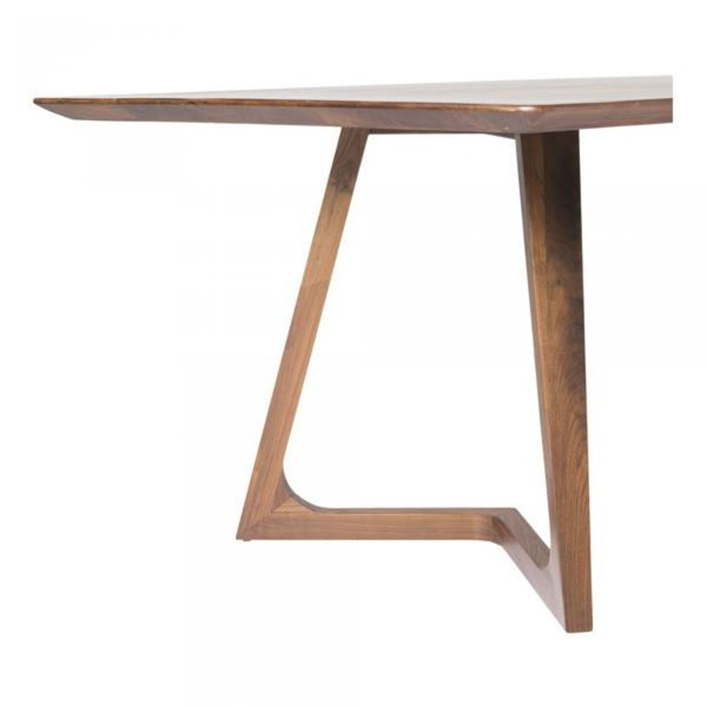 Moe's Home Collection Godenza Dining Table Rectangular Walnut