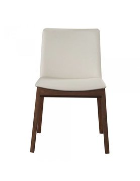 Moes Deco Dining Chair White Pvc-M2