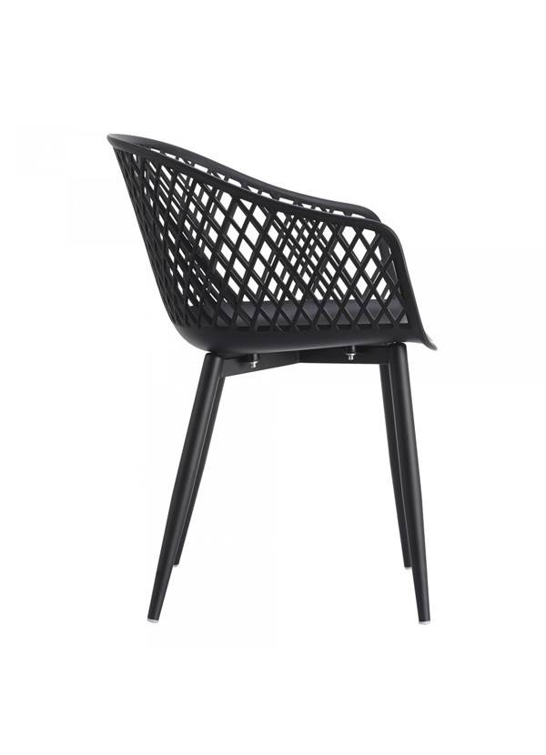 Moes Piazza Outdoor Chair Black-M2