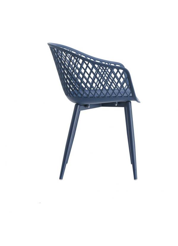 Moes Piazza Outdoor Chair Blue-M2