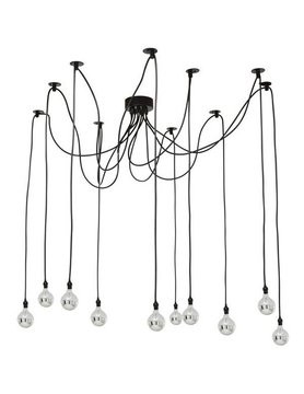 Nuevo Living ASAKI Pendant Lamp Black Metal