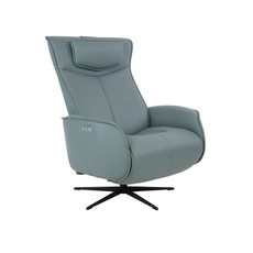 Fjords Axel Recliner Medium Ice Leather