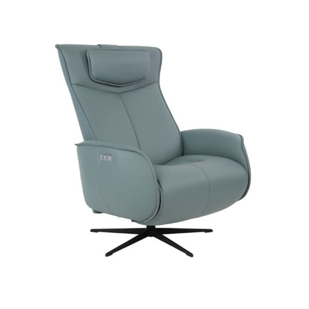 Fjords Axel Recliner Large Ice Leather